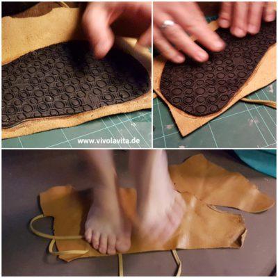 huaraches oder auch barfu schuhe schritt f r schritt selber machen vivo la vita. Black Bedroom Furniture Sets. Home Design Ideas